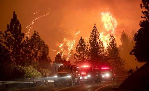 Апокалипсис вСША: лесные пожары унесли жизни 28 человек