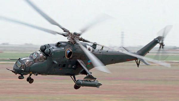 Бои в Карабахе: Азербайджан бросил в бой новые ударные вертолёты