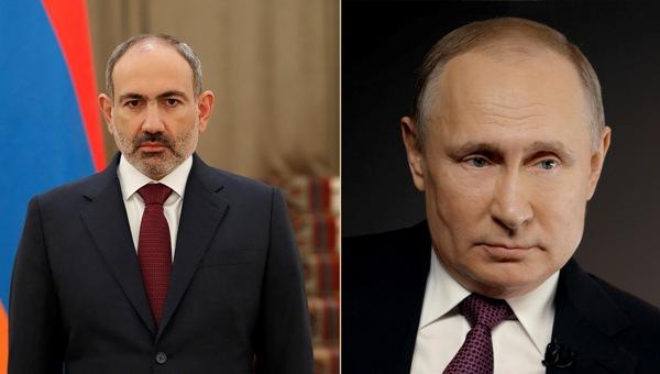 Пашинян попросил Путина начать консультации по оказанию помощи Армении —  Новости политики, Новости России — EADaily
