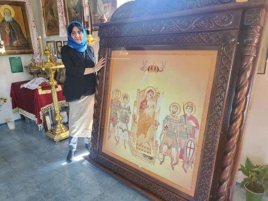 Абхазская церковь возвращает икону, которую привезли грузинские политики