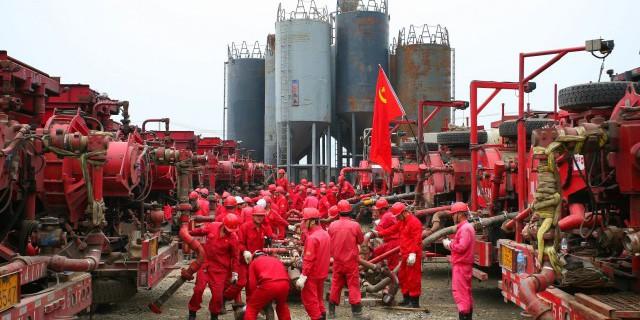 Китай за год увеличил добычу газа на 8,5%