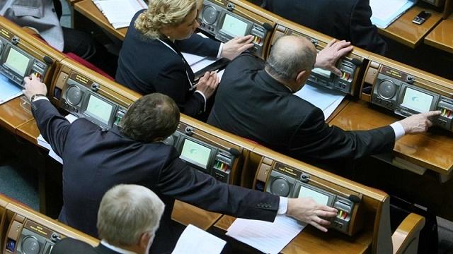 Разумков пообіцяв впровадження голосування в Раді за відбитком пальця