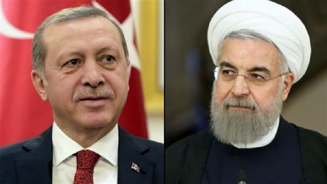 Роухани и Эрдоган обсудили ракетный удар по Сирии