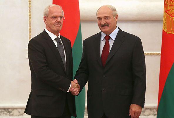 Петер Деттмар иАлександр Лукашенко