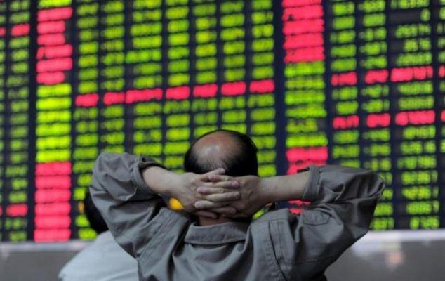 На фондовом рынке Китая снова идет серьезное снижение