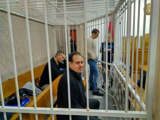Пророссийских публицистов судят в Минске: 03.01.2018 день деcятый