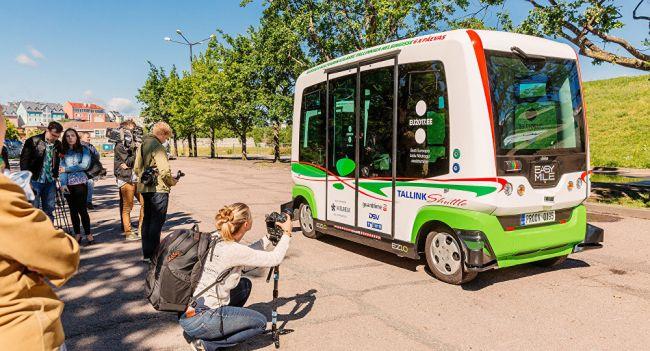 Первый эстонский беспилотный автомобиль представлен на «Фестивале мнений»