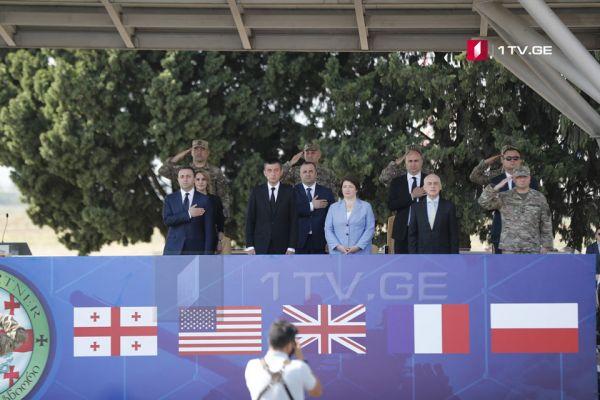 ВГрузии начались многонациональные военные учения Noble Partner