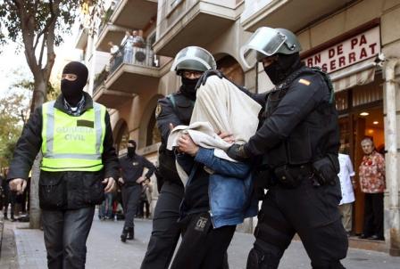 Image result for Антитеррористическая операция в Каталонии