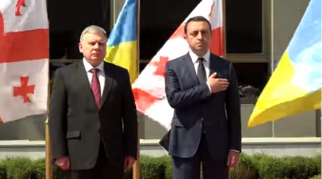 Министры обороны Грузии иУкраины обсудили, как положить конец «оккупации»