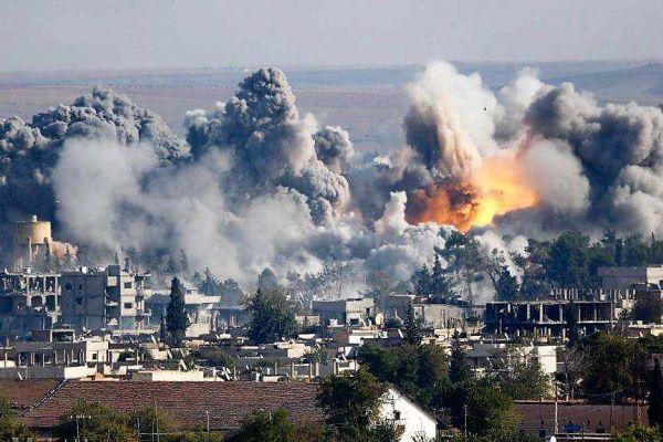Более 20 мирных жителей погибли в Ракке в результате ударов международного альянса