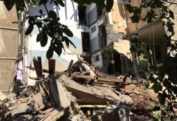 Взрыв вжилом здании вЕреване: спасены двое новорожденных