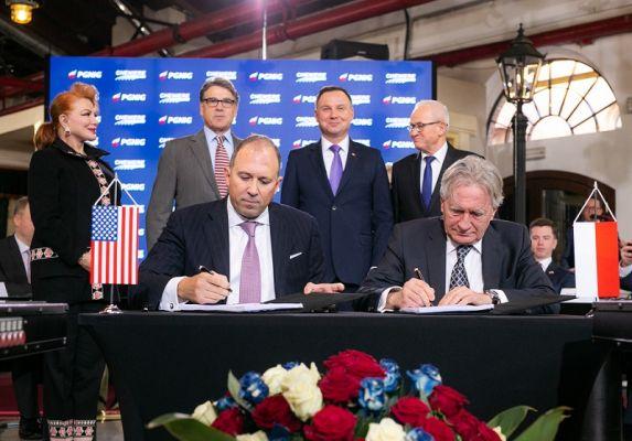 Польша заключила долгосрочный контракт на закупку американского СПГ