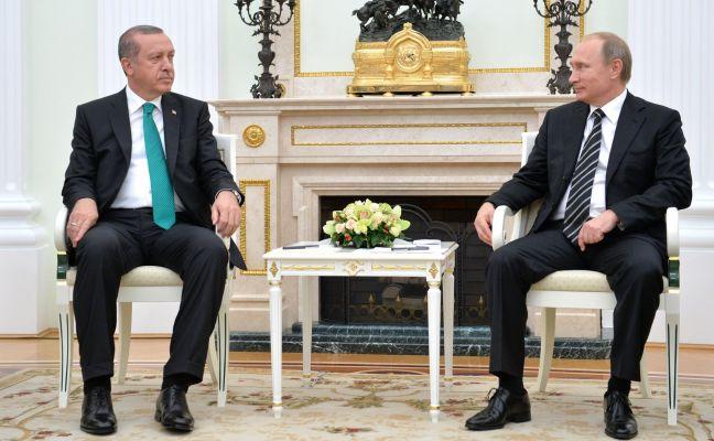 Эрдоган: Турция хочет поднять уровень товарооборота с Россией до $ 100 млрд