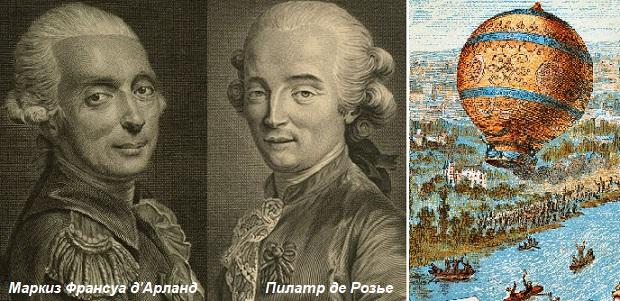 Картинки по запросу 1783 Состоялся первый в истории полет человека на воздушном шаре