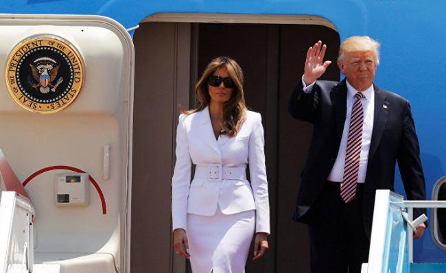 Гость, которому не рады: самолет Трампа приземлился  в Лондоне