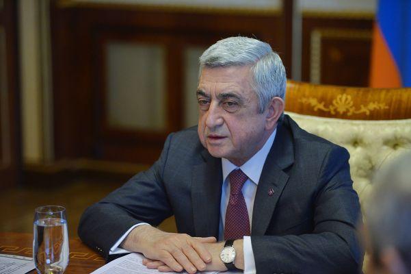 Серж Саргсян: Я готов взять на себя ответственность
