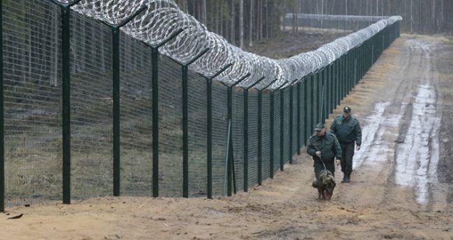 Латвия достроила 93-километровый забор по границе с Россией
