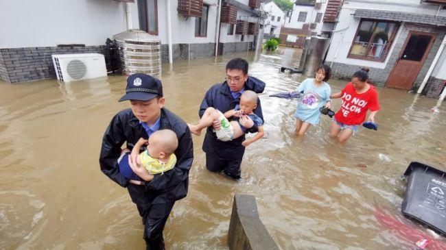 15 человек погибли врезультате наводнений вкитайской провинции Шаньси
